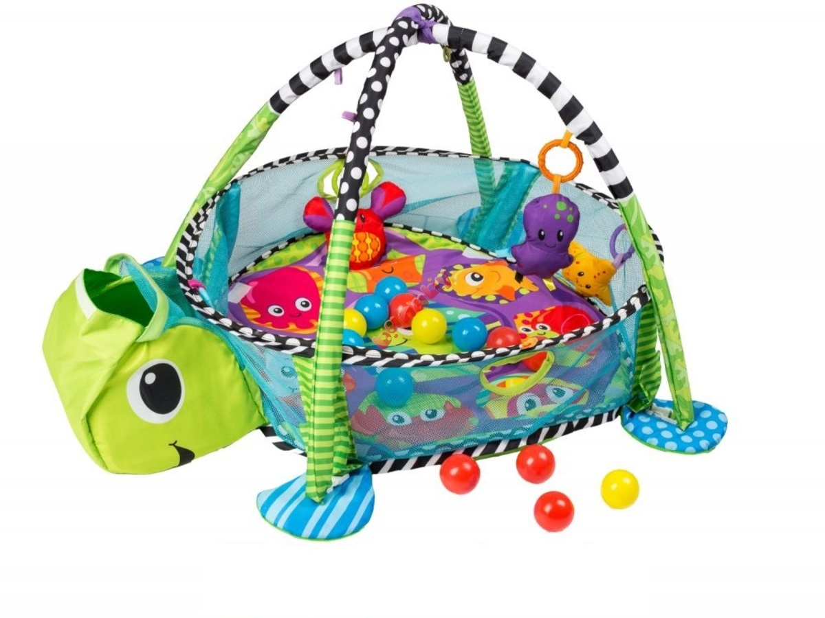 Childrens Playing Blanket Turtle With The Playpen Banabyeu