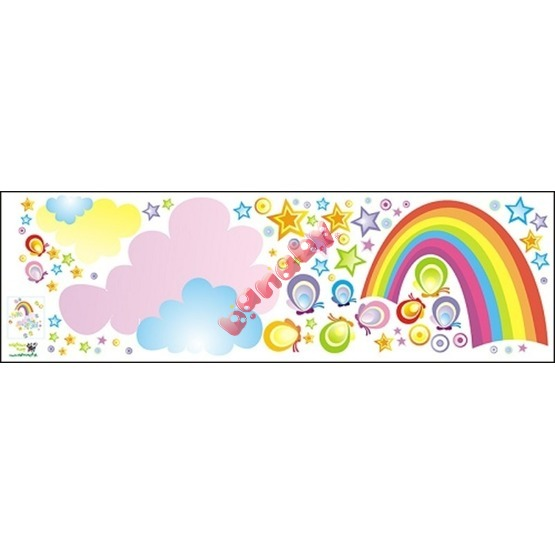 Envelope decoration Rainbow