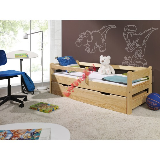 Children's Bed with Safety Rail