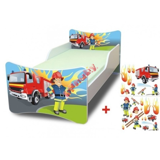 Fireman Children's Bed