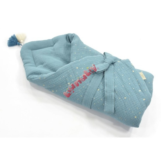 LILU Swaddle blanket made of muslin - different colors