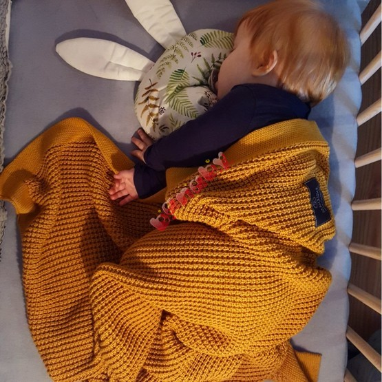 Blanket bamboo / cotton for children - different colors