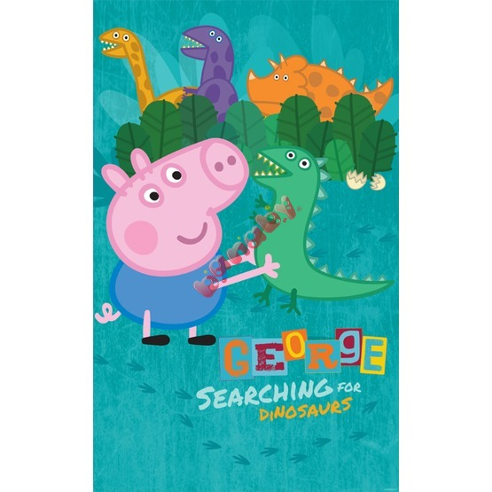George Pig 6-Panel Children's Wall Mural