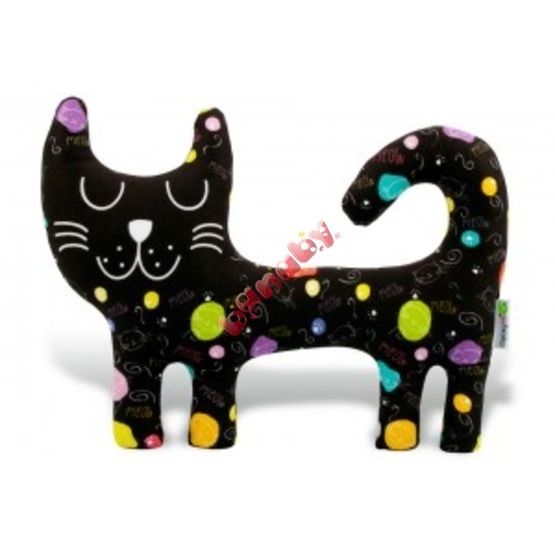 Textile toy - Pussy Black Meow