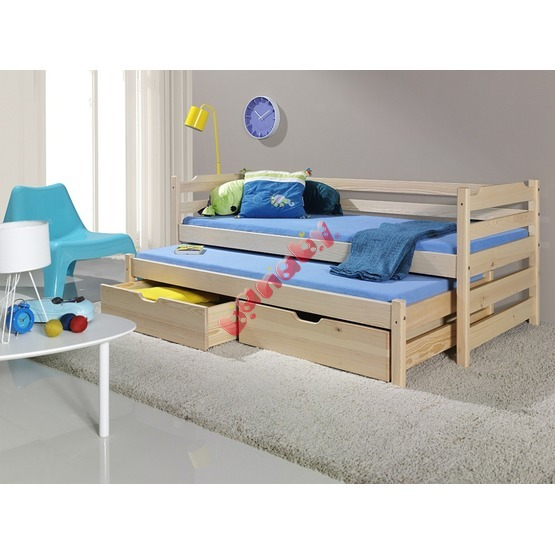 Sam Children's Trundle Bed - Natural