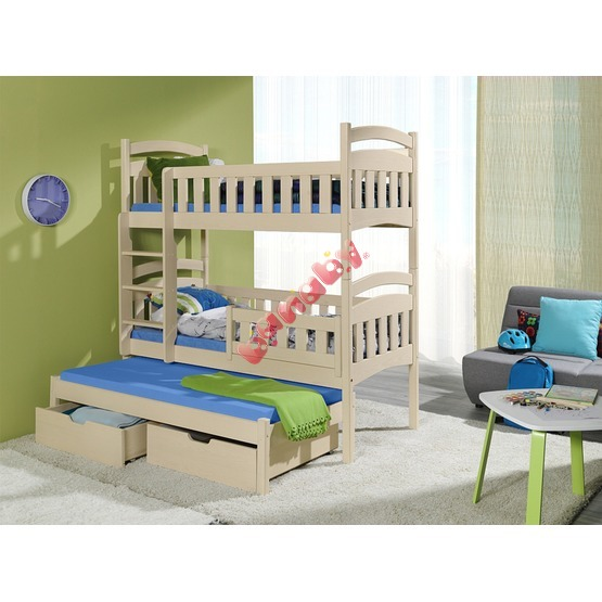Storey bed with bed Ella natural