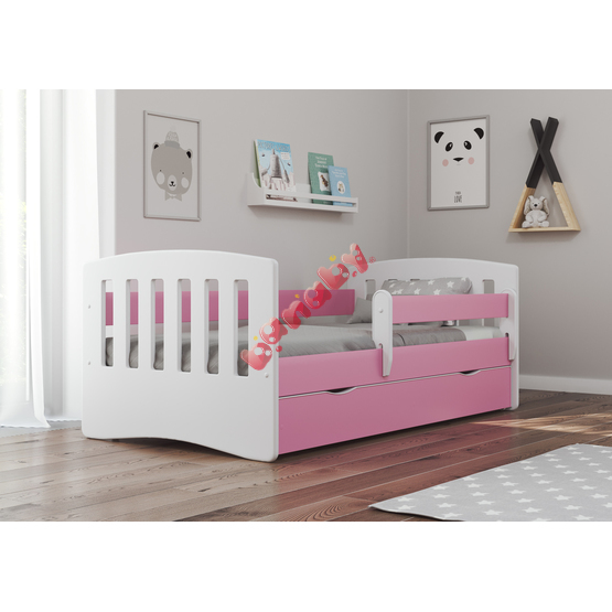 Classic Children's Bed - Pink