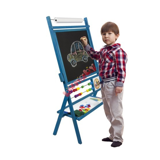 Blue Children's Magnetic Easel