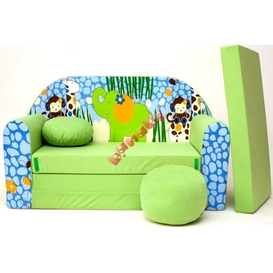 Jungle Children's Sofa Bed