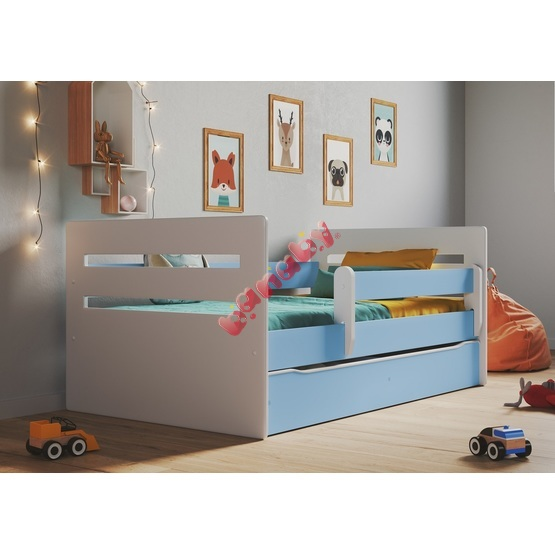 Ourbaby children's bed Tomi - blue