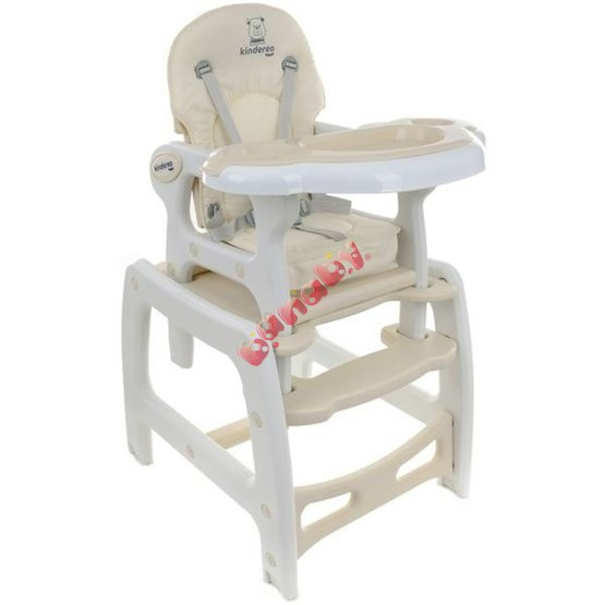 Children dining small chair Hugo - beige