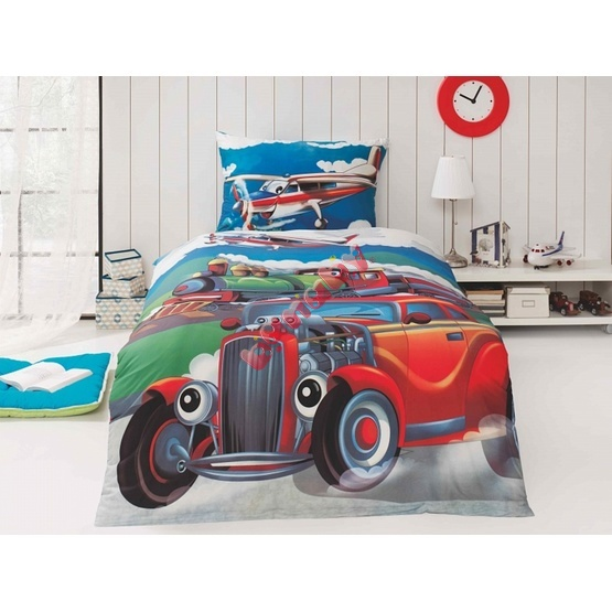 Grand Prix Children's Bedding Set