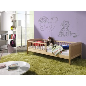 Natural Junior Children's Bed - 160 x 70 cm