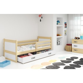 Children bed Rocky - natural-white, BMS