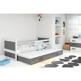 Children bed with bed Rocky - white-gray, BMS