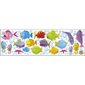 Stickers to wall Fish