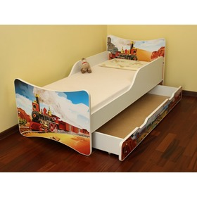 Train Children's Bed, Spokojny Sen