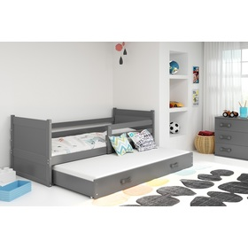 Children bed with bed Rocky - grey, BMS