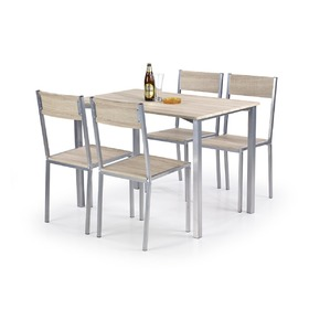 Ralph 1+4 Dining Furniture Set, Halmar