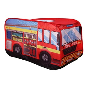 Children's Play Tent - Fire Engine