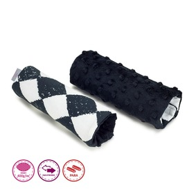 Safety Belt Pads - Chessboard, Makaszka