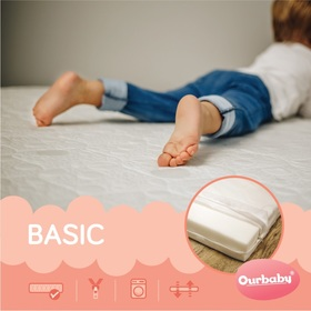 Foam mattress BASIC - 190x100 cm, Ourbaby