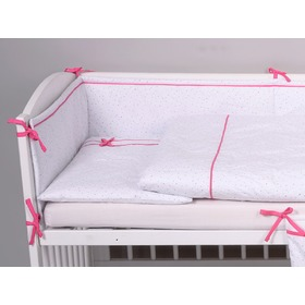 Children 2-dílné bedding mini-mini pink, Modenex
