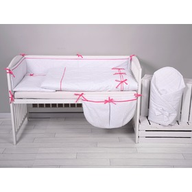 Children 3-dílne bedding mini-mini pink, Modenex