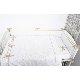 Children 2-dílné bedding mini-mini beige, Modenex