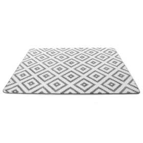 Rug 3D DIAMOND GREY & WHITE, Podlasiak