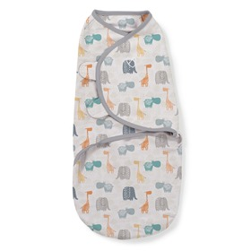 Wrap Swaddleme jungle / gray, Summer Infant