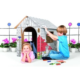 Tektorado Cardboard Playhouse