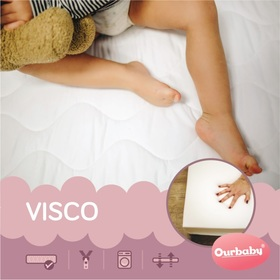 Mattress VISCO 140x70 cm, Ourbaby