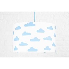 Textile hanging lamp Clouds - white, YoungDeco