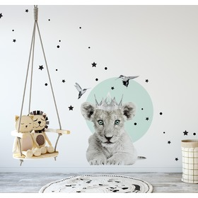 Wall decoration DEKORNIK - small lion king