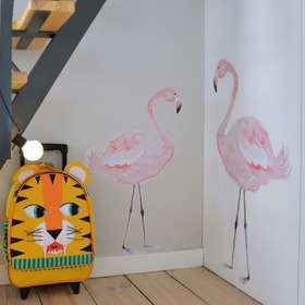 Wall decoration DEKORNIK - flamingos, Dekornik