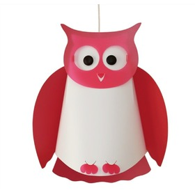Children's lamp owl- different colors, R&M COUDERT