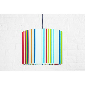Textile hanging lamp Stripes Mini, YoungDeco