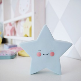 Children LED lamp Star - different color, cottonovelove