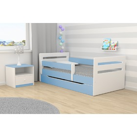 Ourbaby children's bed Tomi - blue, All Meble