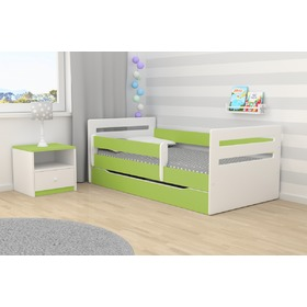 Ourbaby children's bed Tomi - green
