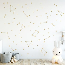 Wall stickers - GOLDEN STARS