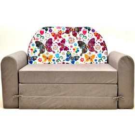 Kids' sofa Timi jr. Butterflies, Welox