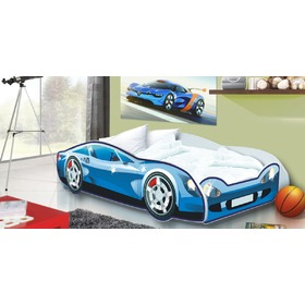 Children bed Auto Speedy blue