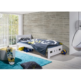 Bed Vanesa White, Litdrew