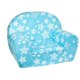 Children's armchair Stars - blue, Fimex