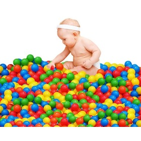 Plastic balls to swimming pool 100 pc, EcoToys