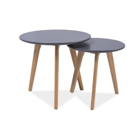 Coffee table Milan V grey, SIGNAL MEBLE