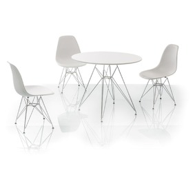 Dining table NITRO white, SIGNAL MEBLE