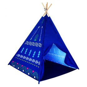 Teepee tent for children - Blue , EcoToys